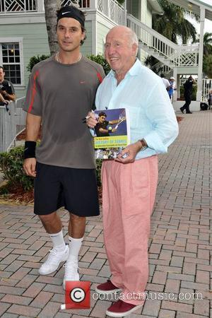 Gavin Rossdale and Bud Collins