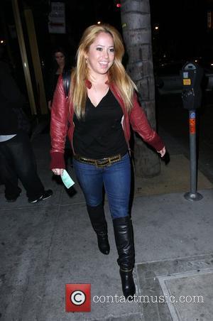 Sabrina Bryan leaves Bar Deluxe Los Angeles, California - 23.04.09