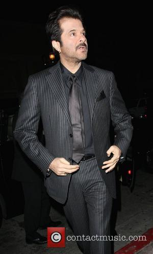 Anil Kapoor outside Beso Restaurant Los Angeles, California, USA - 26.02.09