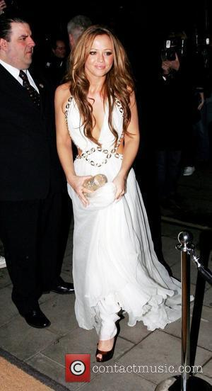 Kimberley Walsh of Girls Aloud Brit Awards 2009 Universal Aftershow party at Claridges - Outside Arrivals London, England - 18.0209