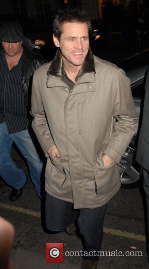 Jim Carrey arriving at Claridges Hotel in Mayfair. London, England - 08.12.08