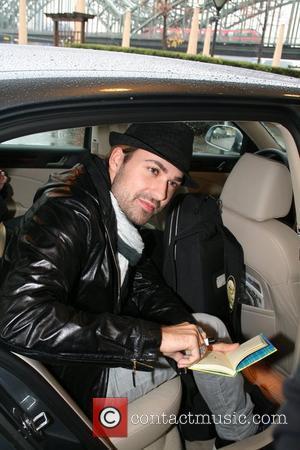 David Garrett  arriving at Hyatt Hotel Cologne, Germany - 01.11.08