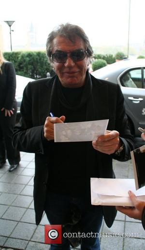 Roberto Cavalli arriving at Hyatt Hotel Cologne, Germany - 01.11.08