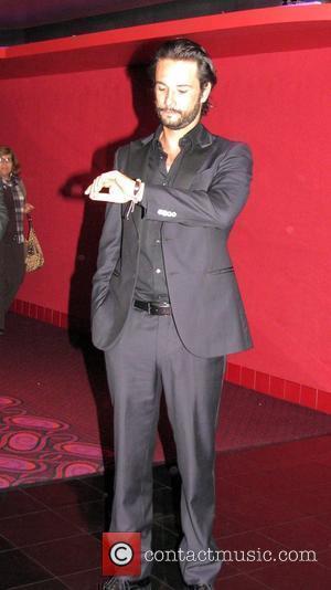 Rodrigo Santoro in the hotel Lobby of the Italia Film Festival Los Angeles, California - 15.02.09