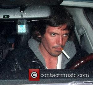Lukas Haas Seen leaving Les Deux Restaurant in his car, with an unlit cigarette in his mouth Hollywood, California -...