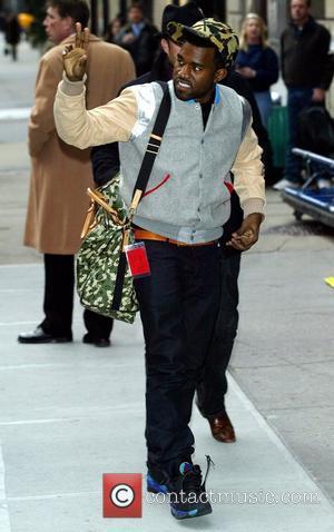 Kanye West and David Letterman