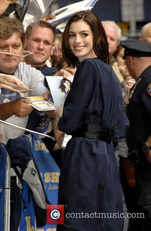 David Letterman, Anne Hathaway