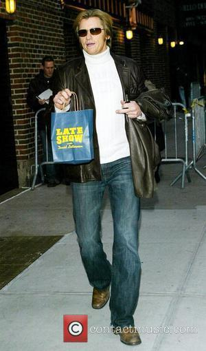 Denis Leary outside the Ed Sullivan Theater for The David Letterman Show. New York City, USA - 27.11.08