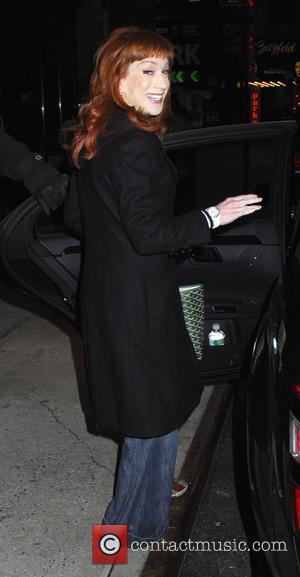 Kathy Griffin  out and about in New York. New York City, USA - 02.02.09