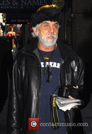 Tommy Chong out and about in New York. New York City, USA - 02.02.09