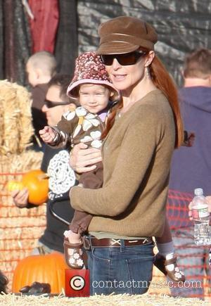 Marcia Cross and Family