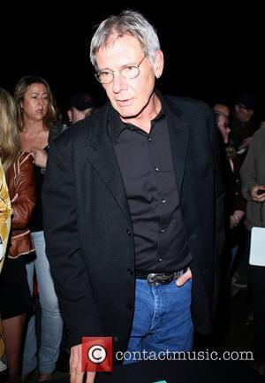 Harrison Ford arrives at Santa Monica College Performing Arts Center Santa Monica, California - 27.03.09