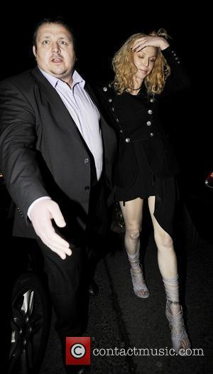 Courtney Love arriving at the O2 Shepherds Bush Empire to see The Killers and Coldplay in concert. It appears that...