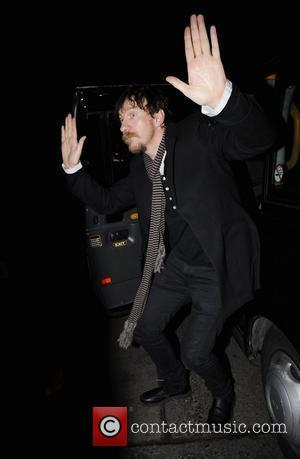 David Thewlis  arriving at O2 Shepherds Bush Empire to see Killers and Coldplay in concert. London, England 18.02.09