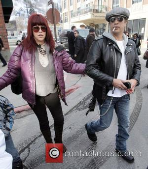 Slash and Perla Ferrar out and about during the 2009 Sundance Film Festival, Day 4 Park City, Utah - 18.01.09