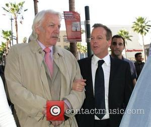 Donald Sutherland and Keifer Sutherland