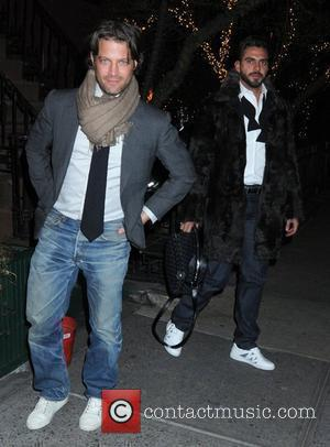 Nate Berkus and Lorenzo Martone leaving The Waverly Inn restaurant New York City, USA - 14.02.09