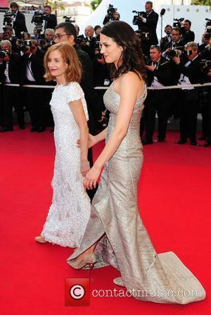 Asia Argento and Isabelle Huppert