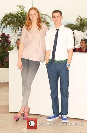 Lily Cole and Andrew Garfield