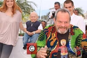 Lily Cole, Terry Gilliam and Verne Troyer