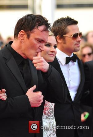 Melanie Laurent, Quentin Tarantino, Cannes Film Festival
