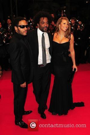 Lenny Kravitz, Lee Daniels and Mariah Carey