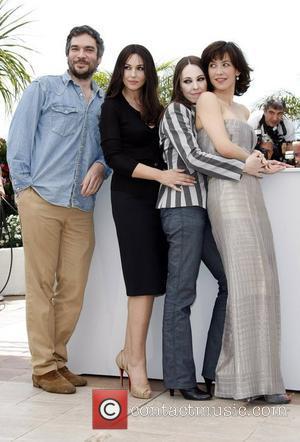 Andrea Di Stefano, Monica Bellucci and Sophie Marceau