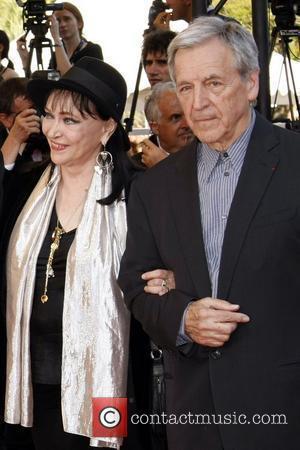 Anna Karina and Constantin Costa-gavras