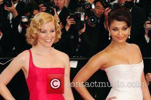 Elizabeth Banks and Aishwarya Rai