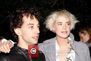 Albert Hammond, Jr. and Agyness Deyn Opening Party for Mobile Art: Chanel Contemporary Art Container in Central Park - Arrivals...