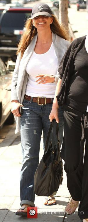 Charisma Carpenter shopping with her mother on Sunset Boulevard Los Angeles, California - 16.03.09