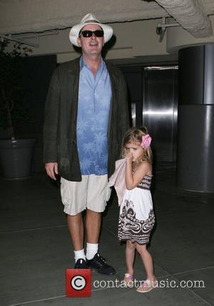 Charlie Sheen taking his daughter Sam to the cinema at Sherman Oaks galleria Los Angeles, California - 09.11.08