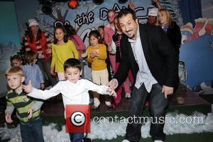 Joey Fatone and Kids