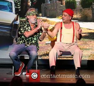 Tommy Chong and Cheech Marin