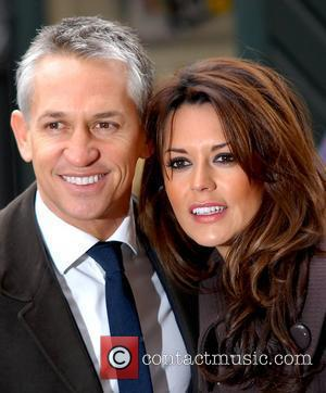 Gary Lineker and Danielle Bux
