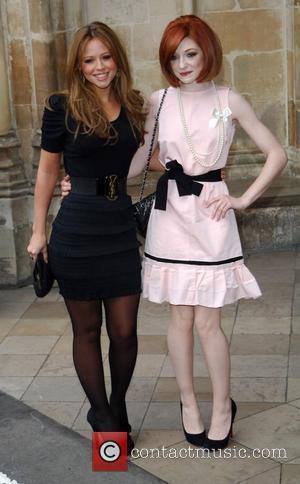 Kimberley Walsh and Nicola Roberts