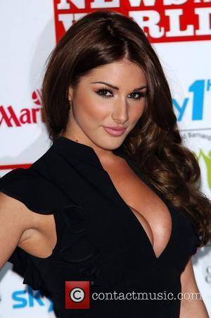 Lucy Pinder and Grosvenor House
