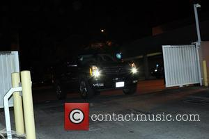 Chris Brown, Clive Davis and Rihanna