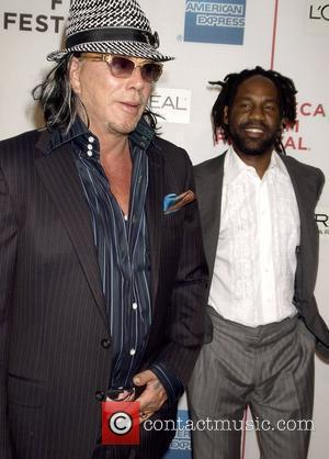 Mickey Rourke and Unik Ernest