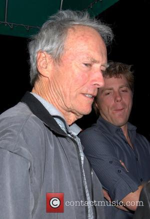 Clint Eastwood and son Kyle leave Dan Tana's restaurant after having dinner West Hollywood, California - 31.01.09
