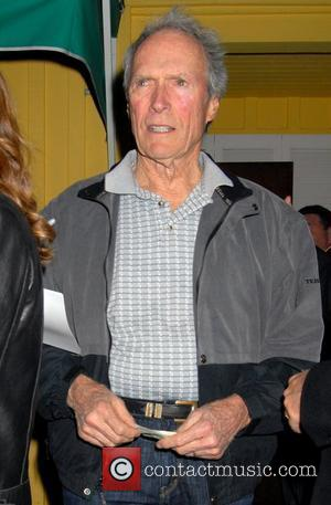 Clint Eastwood leaves Dan Tana's restaurant after having dinner with his son Kyle and friends West Hollywood, California - 31.01.09
