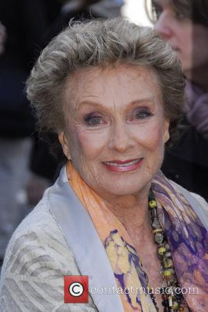 Cloris Leachman unveils her new PETA advert, 'Let Vegetarianism Grow on You' in Times Square New York City, USA -...