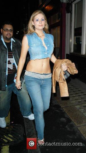 Nicola McLean at the Loaded 2004 Calendar launch party, 10 Rooms, London - 04.11.03