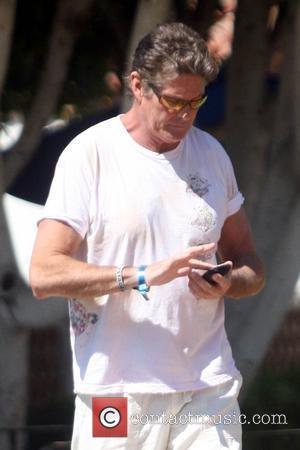 Hasselhoff Kisses New Love At Coachella