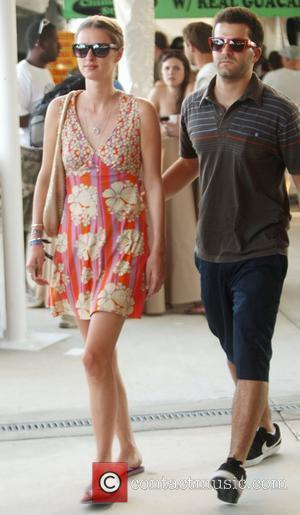 Nicky Hilton and David Katzenberg Enjoying A Day At The