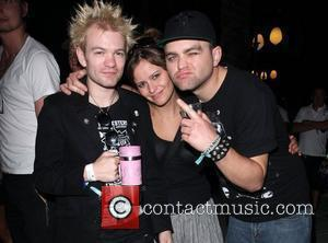 Deryck Whibley and friends Coachella Music Festival 2009 - Day 3  Indio, California - 19.04.09