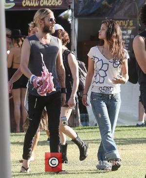 Jared Leto walks and talks with a female companion Coachella Music Festival 2009 - Day 3 Indio, California - 19.04.09