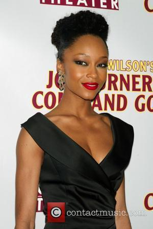 Yaya DaCosta Opening Night of August Wilson's 'Joe Turner's Come And Gone' at the Belasco Theatre - arrivals New York...