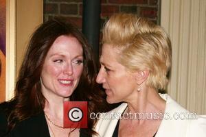 Julianne Moore and Edie Falco