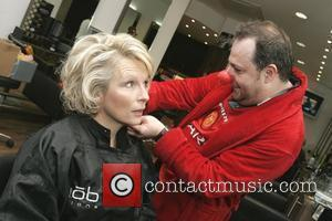 Jennifer Saunders Take part in a 24 hour hair-a-thon at the Barnet branch of Hair on Broadway. The team have...